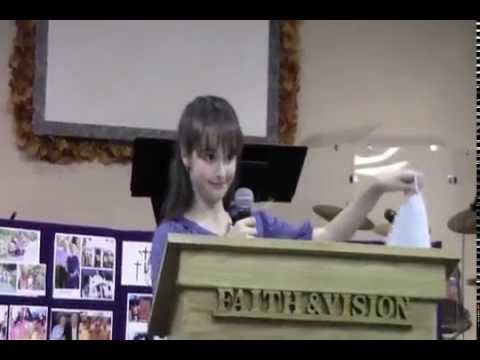 The Launching Of Jordan Cook's International Ministry (from Israel, age 12)