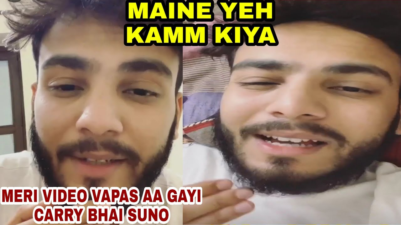 Elvish Yadav Reply Carryminati After Getting His Video Back On YouTube | Carryminati Latest News
