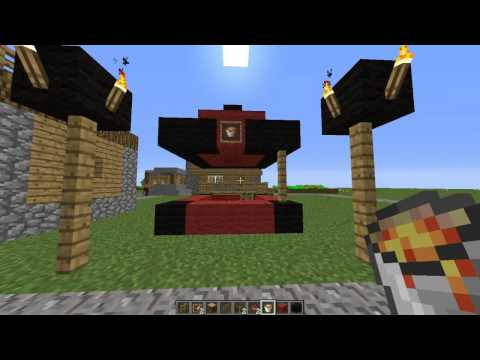 how to build a lemonade stand in minecraft