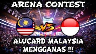 Alucard Malaysia Mengganas !! Indonesia Tak di bagi Turret !! Arena Contest