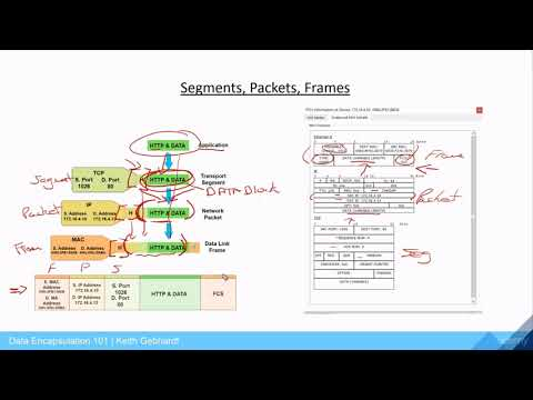 Understanding Segments, Packets, And Frames - Data Encapsulation Series