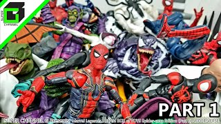 Marvel Legends DREAM BOX of TOYS Spider-man Edition! Into the Spider-Verse (PART 1)