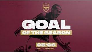 Van Persie, Henry, Reyes | Arsenal Goals Of The Season | 2005/06
