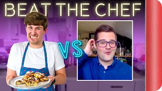 HOME COOK tries to BEAT A CHEF?? | Cinnamon Rolls