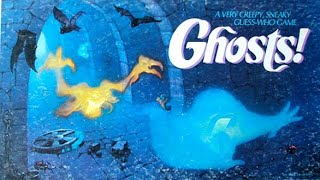 Ep. 101: Ghosts! Board Game Review (Milton Bradley 1985)
