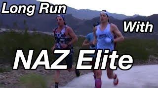 16-Mile Long Run At Marathon Pace With NAZ Elite👊