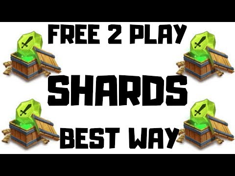 Shards | Free 2 Play | Best Trick | Castle Clash