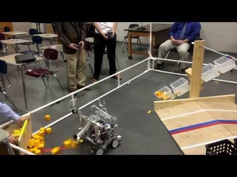 Team 6073: Memphis University School Robotics - FTC 2014 (Block Party) Teleop + Endgame