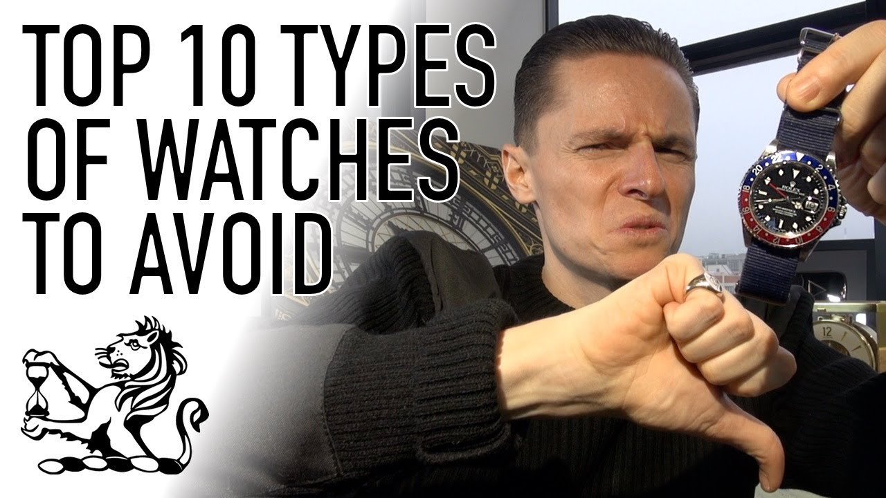 Download Top 10 Types of Watches To Avoid - Don't Buy A Watch Until You've Seen This!