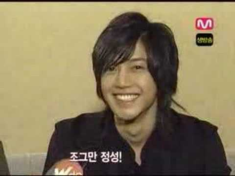 Hyun Joong Interview