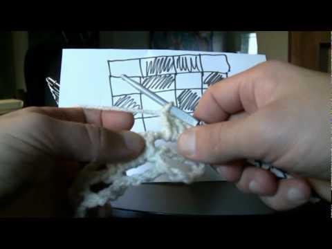 How To Filet Crochet Part 2 Youtube