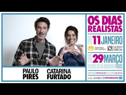 OS DIAS REALISTAS | Catarina Furtado e Paulo Pires são...
