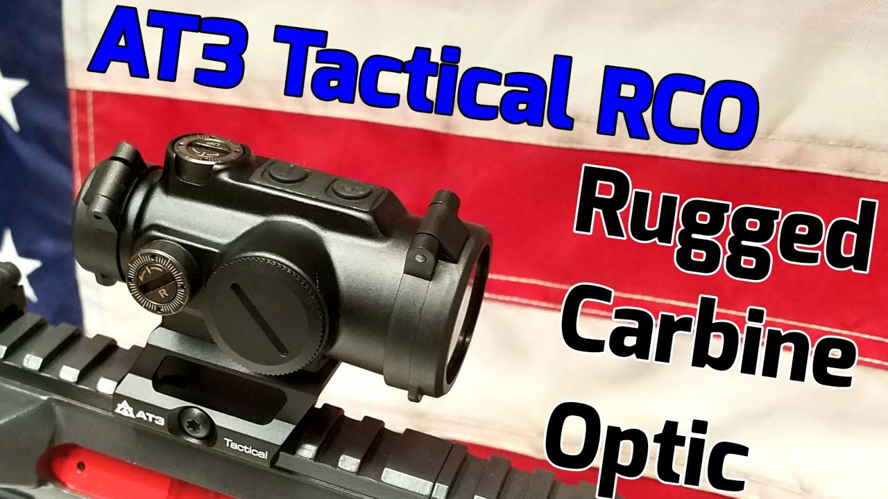 AT3 Tactical RCO best affordable red dot.