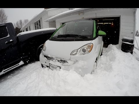 Smart Electric Car - Winter road trip and range report
