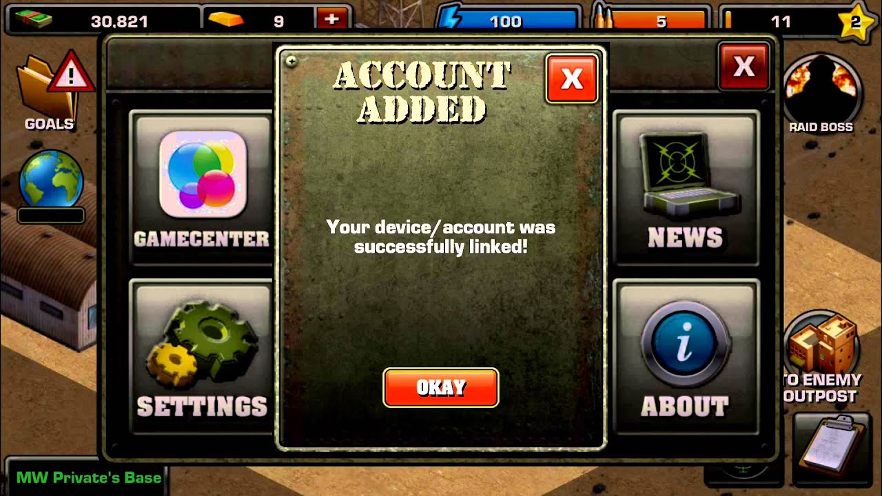 Account Syncing with Game Center, iOS Devices – Player Support