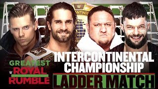 Seth Rollins vs  Finn Baler vs The Miz vs Samoa Joe at The Greatest Royal Rumble in history | WWE 2K