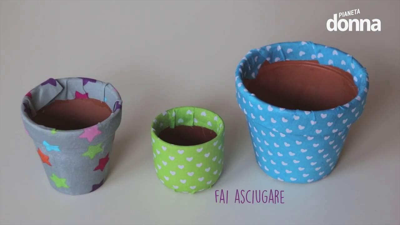 Come decorare i vasetti da giardinaggio tutorial youtube for Bordi per aiuole fai da te