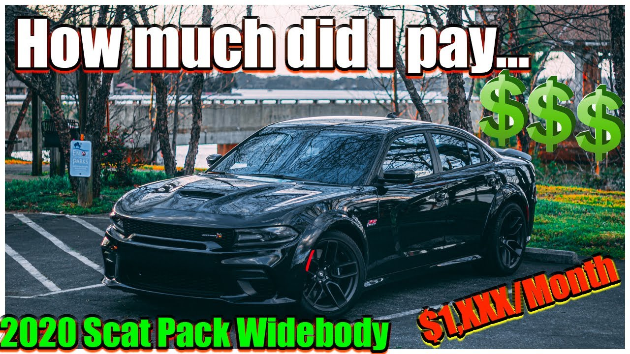 dodge charger scat pack monthly payment HOW MUCH DO I PAY A MONTH for my 2 DODGE CHARGER SCAT PACK  WIDEBODY(EXPENSIVE).. KNOCKOUT2