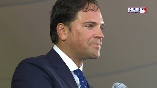Mike Piazza - 2016 Hall of Fame induction speech highlights - Mets, 9/11, Vince Piazza