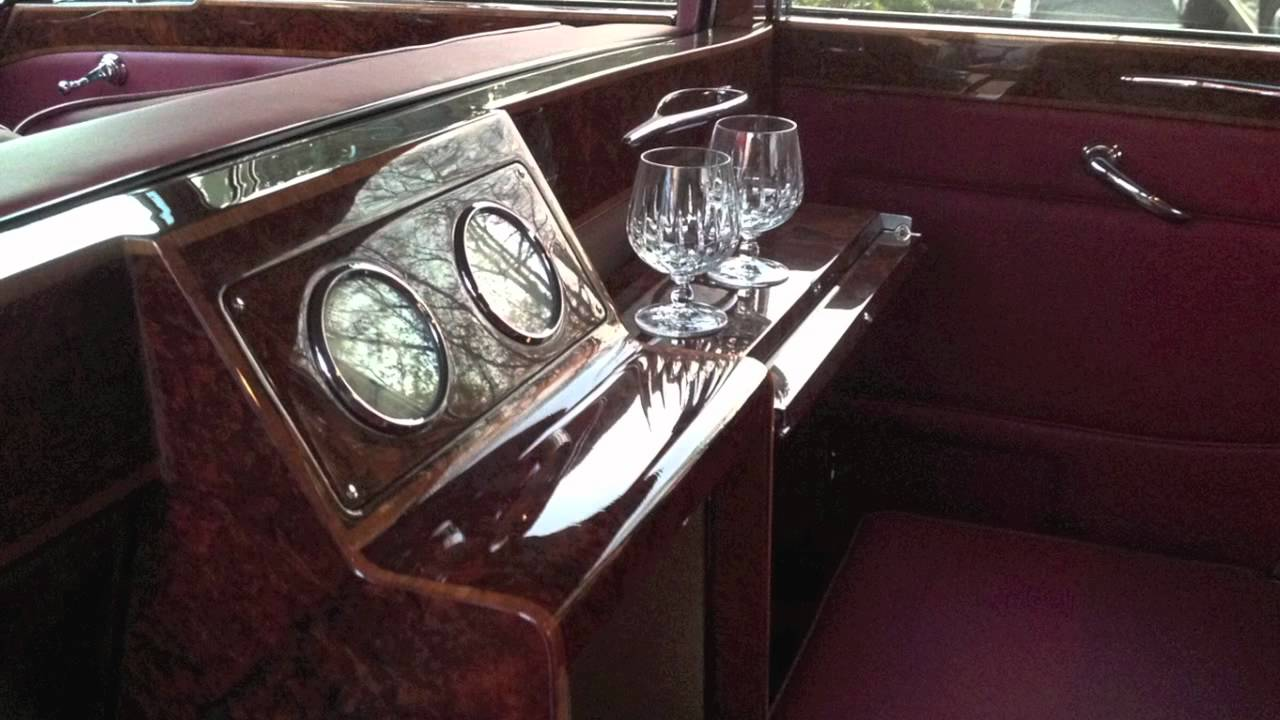 1962 Vintage Rolls Royce Phantom V Black Limo by Broward - YouTube