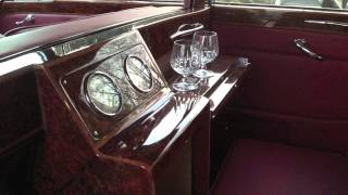 1962 Vintage Rolls Royce Phantom V Black Limo by Broward
