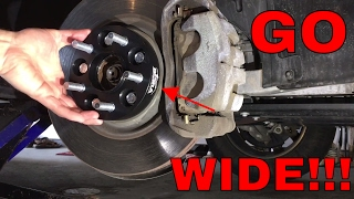 Wheel Spacer & Black Lug Install! (BORA) - Jeep Cherokee Trailhawk