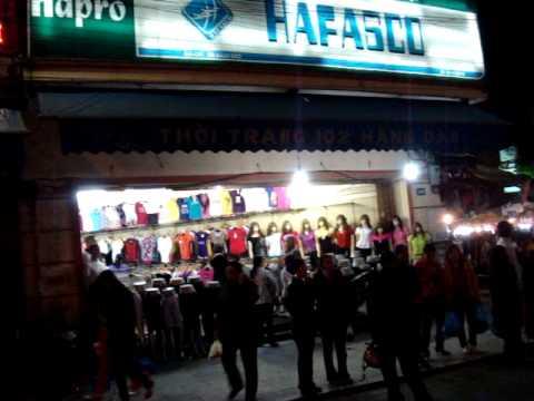 Chợ đêm phố cổ Hà nội