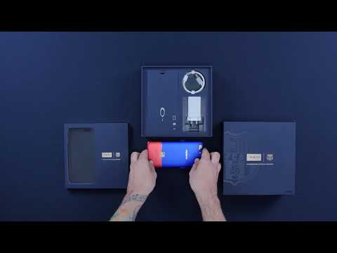 Unboxing the $699 Oppo x FC Barcelona R11 Smartphone
