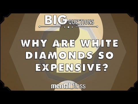 Why Are White Diamonds So Expensive? - Big Questions (Ep. 10)