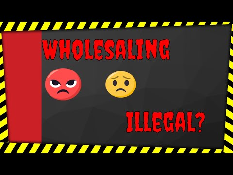 They are attempting to make wholesaling illegal in Oklahoma. What to do next?