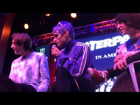 Waterparks Q&A - Touring with All Time Low/Memes