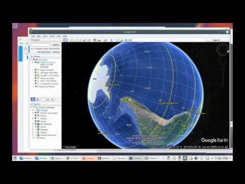 Paths of Sydney to Santiago Flights - Flat Earth ?