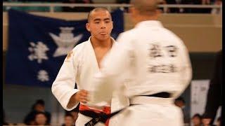 全国高校柔道選手権2018 男子60Kg決勝 近藤隼斗 ✖ 松田淳希 tv2ne1
