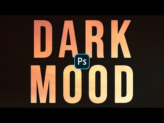 Dark Mood in Photoshop - Come editare foto drammatiche