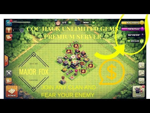 Clash Of Clans Hack 2017 - Clash Of Clans Free Gems IOS and Android
