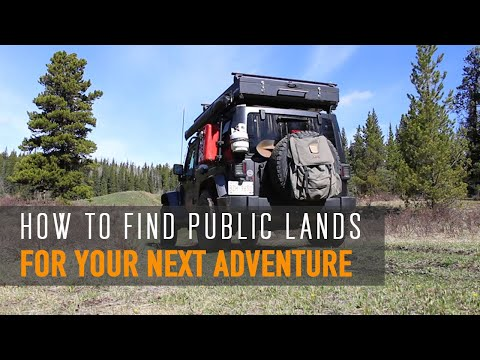 How To Find Public Lands In Alberta For Your Next Adventure