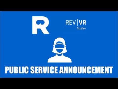 VR HMD Public Service Announcement