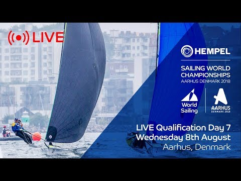 LIVE Sailing  Hempel Sailing World Championships  Qualification Day 7