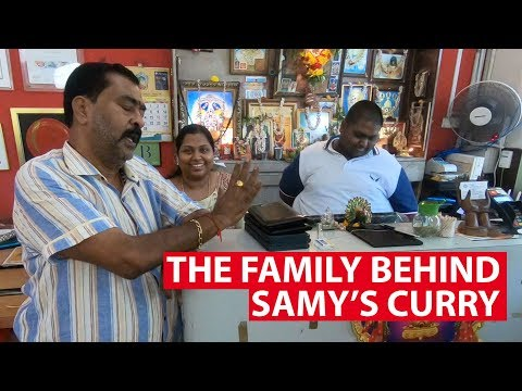 The Family Behind Samy&39;s Curry  On The Red Dot  CNA Insider