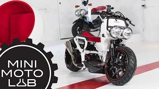 Honda Ruckus Build Part 3 - Mini Moto Lab x Honda Motorcycles Canada