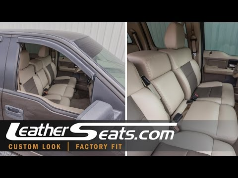 2004-2008 Ford F-150 SuperCrew Console Installation - LeatherSeats.com