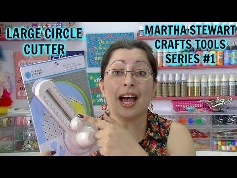 Martha Stewart Crafts Tools Series | #1 Large Circle Cutter