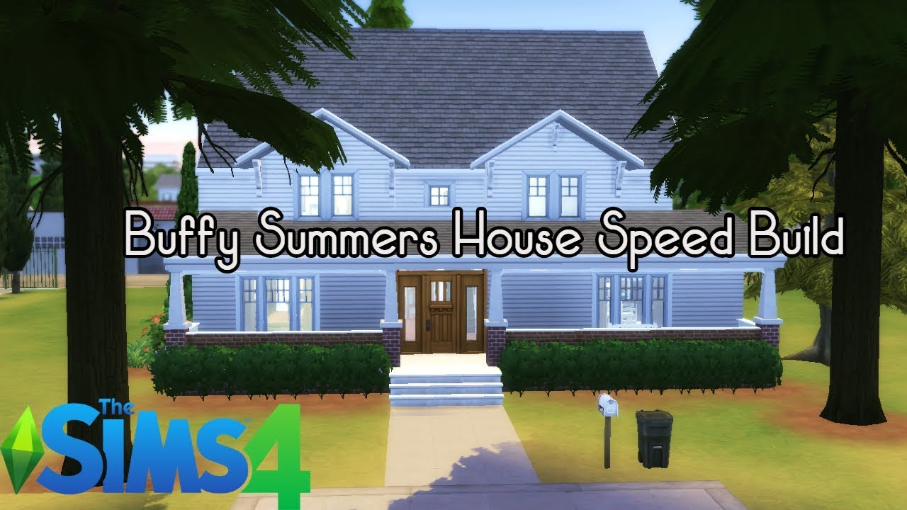 Buffy Summers House The Sims 4 Speed Build Youtube