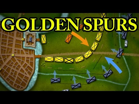 The Battle of the Golden Spurs 1302 AD