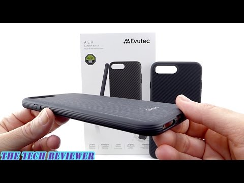 Feather Light, Mil-Spec Protective & Magnetically Mountable-Evutec AER w/AFIX Mount for iPhone 7+!