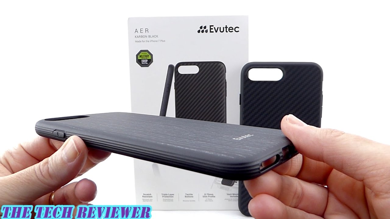 2a6f4e9e46e Feather Light, Mil-Spec Protective & Magnetically Mountable-Evutec AER  w/AFIX Mount for iPhone 7+!