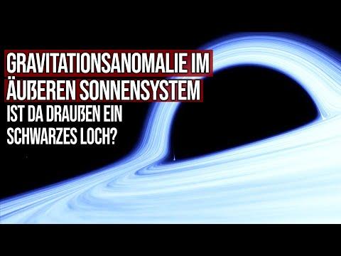 Gravitationsanomalie im äußeren Sonnensystem - Ist da draußen ein schwarzes Loch?
