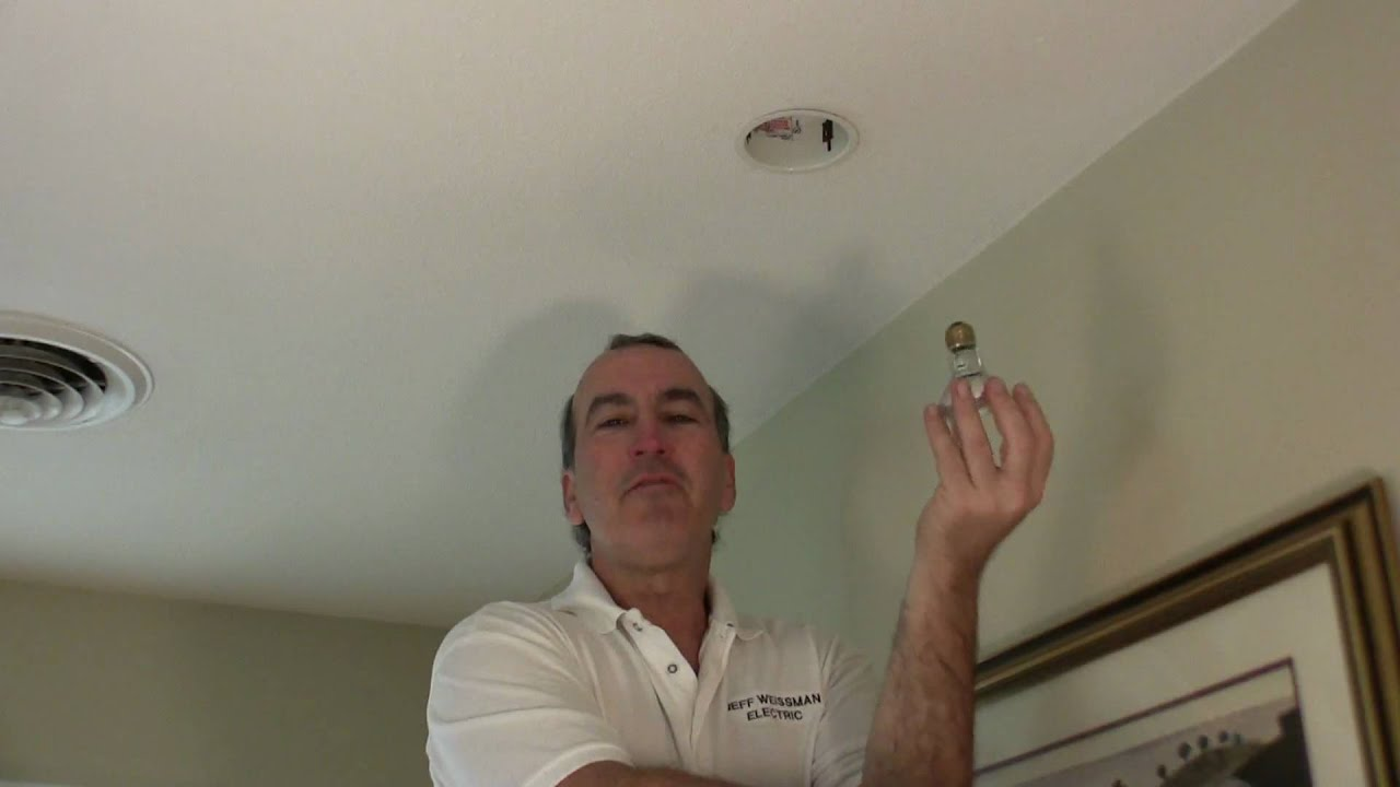 Recessed Ceiling Light Bulb Change : How to change a light bulb halo quot recessed can jeff