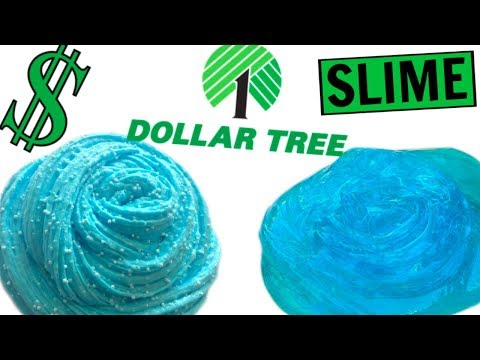 Thumbnail: DOLLAR TREE SLIME CHALLENGE! How To Make Fluffy Slime, Floam Slime, Slime Without Borax! NO BORAX!
