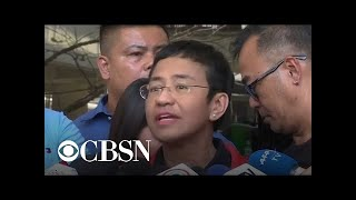 Journalist Maria Ressa goes on trial in Philippines, and more global headlines
